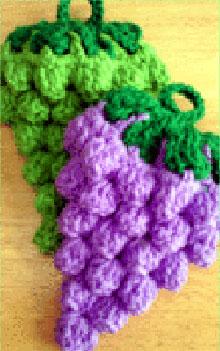 たわし 手編み アクリル